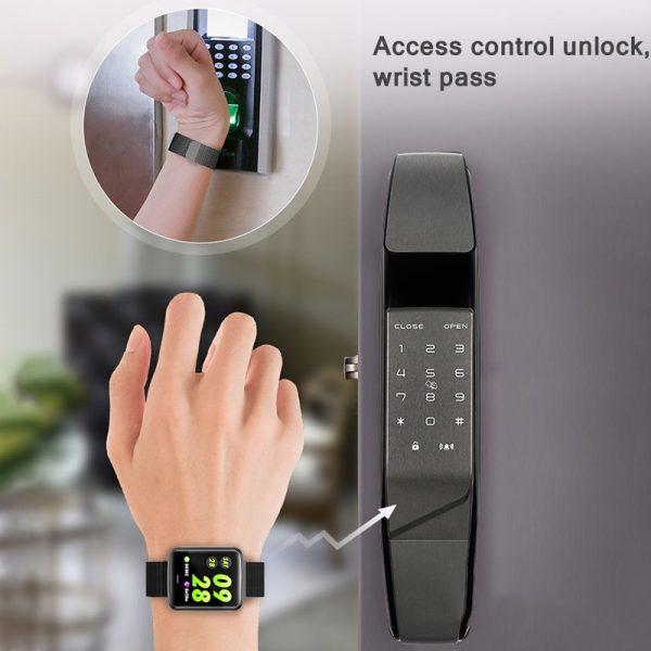 خرید ساعت هوشمند از علی اکسپرس 2020 Ladies Sport Bracelet Smart Watch Women Smartwatch Men Smartband for IOS Android Waterproof Fitness Tracker Smart Clock Men