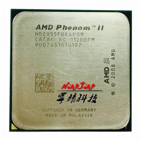 خرید سی پی یو از علی اکسپرس AMD Phenom II X4 955 955 3.2 GHz Quad-Core CPU Processor 125W HDZ955FBK4DGM / HDX955FBK4DGI / HDZ955FBK4DGI Socket AM3