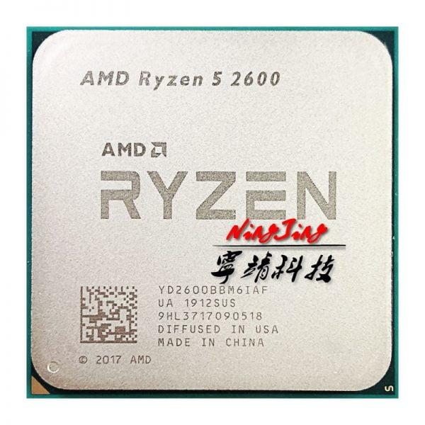 خرید پردازنده از علی اکسپرس AMD Ryzen 5 2600 R5 2600 3.4 GHz Six-Core Twelve-Core 65W CPU Processor YD2600BBM6IAF Socket AM4