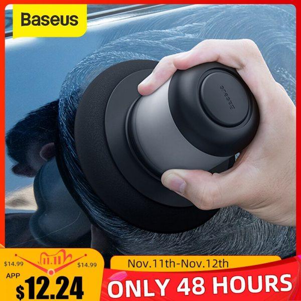 خرید دستگاه پولیش ماشین Baseus Car Polisher Scratch Repair Auto Manual Polishing Machine With 100ml Wax For Car Paint Care Clean Waxing Tool Accessories