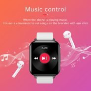 خرید ساعت هوشمند BingoFit Smart Watch Female Sport Fitness Tracker Heart Rate Monitor Smart Watch Android Blood Pressure Measurement Full 1.5inch