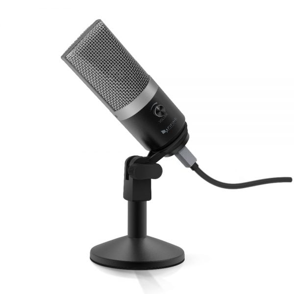 خرید میکروفون از علی اکسپرس FIFINE USB condenser microphone for computer professional recording MIC for Youtube Skype meeting game one line teaching 670-1