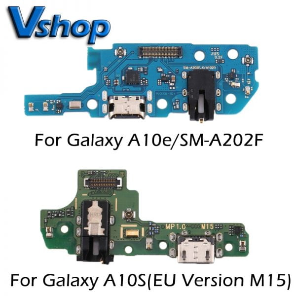 خرید برد شارژ سامسونگ For Galaxy A10e/SM-A202F Charging Port Board for Galaxy A10S(EU Version M15) FlexCables Replacement Parts USB Board Charger Dock