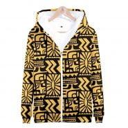 خرید هودی از علی اکسپرس Hot Sale TV Series Stranger Things Zipper Jacket Fashion Hoodies Sweatshirt Men Women Stranger Things Cosplay Zipper Hoody 4XL