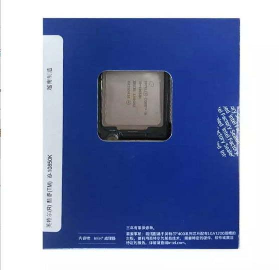 خرید سی پی یو Intel Core i9-10850K i9 10850K 3.6 GHz Ten cores-Core 20-Thread CPU Processor L3=20M 125W LGA 1200 Sealed but without cooler