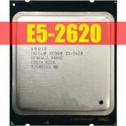 خرید سی پی یو از علی اکسپرس Intel Xeon E5-2620 E5 2620 2.0 GHz Six-Core Twelve-Thread CPU Processor 15M 95W LGA 2011 Free Shipping