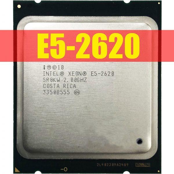 خرید سی پی یو از علی اکسپرس Intel Xeon E5-2620 E5 2620 2.0 GHz Six-Core Twelve-Thread CPU Processor 15M 95W LGA 2011 Free Shipping