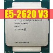 خرید سی پی یو از علی اکسپرس Intel Xeon E5 2620 V3 E5-2620 V3 procesador SR207 2,4 Ghz 6 Core 85W Socket LGA 2011-3 CPU E5 2620V3