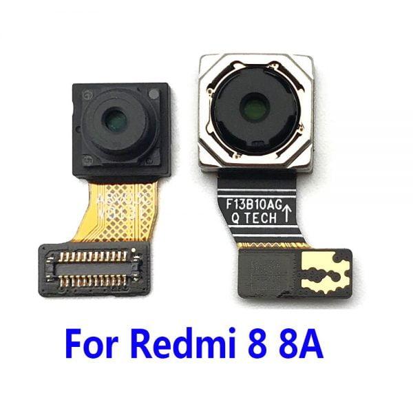 لنز گوشی شیائومی New Front Main Back Rear Camera Flex Cable Module Ribbon For Xiaomi Redmi 8 8A 9A Note 9 Pro Replacement Parts