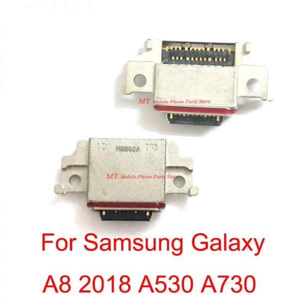 خرید برد شارژ گوشی از علی اکسپرس Original For Samsung Galaxy A8 2018 A530 A730 SM-A530F SM-A530DS Type-C USB Charging Dock Port Connector Board Socket Parts