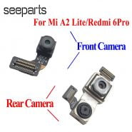 خرید لنز گوشی شیائومی Original For Xiaomi Redmi 6 Pro Front Camera Flex Cable Redmi 6 Pro Rear Camera Replacement For Xiaomi Mi A2 Lite Back Camera