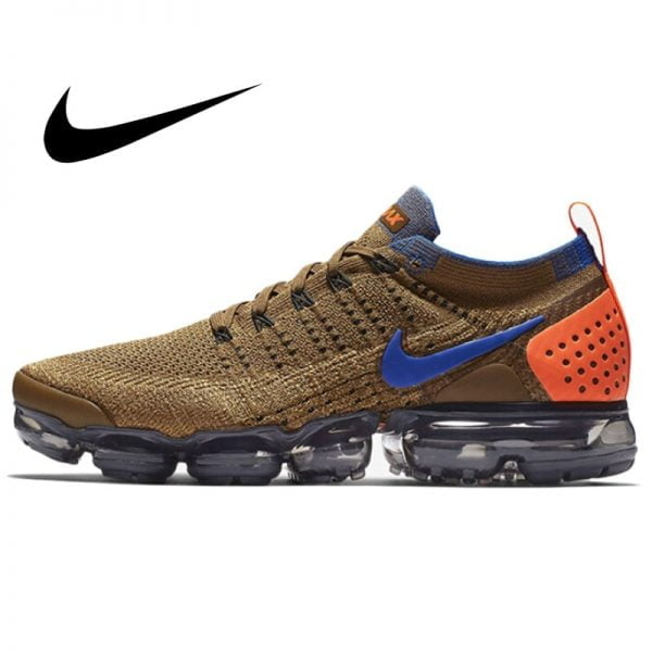 خرید کفش نایکی مردانه Nike Air Vapormax Flyknit 2.0 Men's Running Shoes Comfortable Sport Outdoor Mesh Breathable Sneakers 2019 New 942842