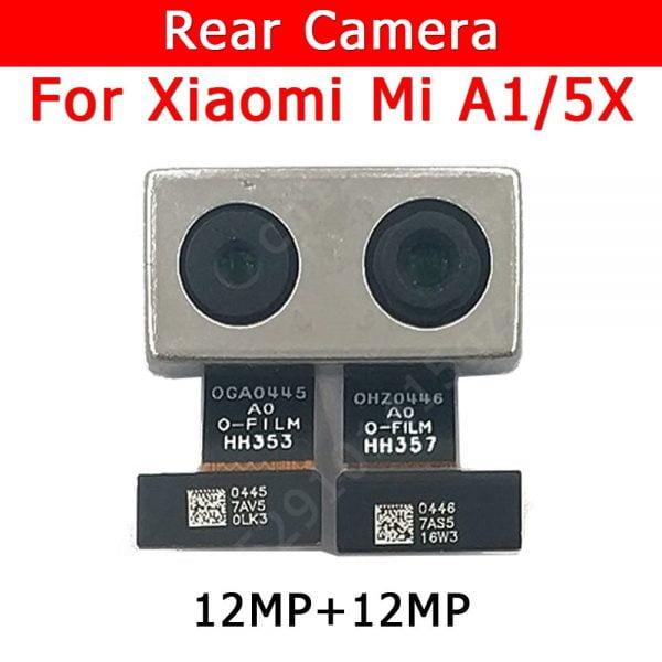 خرید لنز گوشی از علی اکسپرس Original Rear Camera For Xiaomi Mi A1 5X MiA1 Mi5X Back Main Big Camera Module Flex Cable Replacement Spare Parts