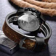 خرید ساعت مچی مردانه از علی اکسپرس Relogio Masculino Blue Men Watch Top Brand Luxury Fashion Military Quartz Mens Watches Waterproof Sports Men's Wristwatches Gift