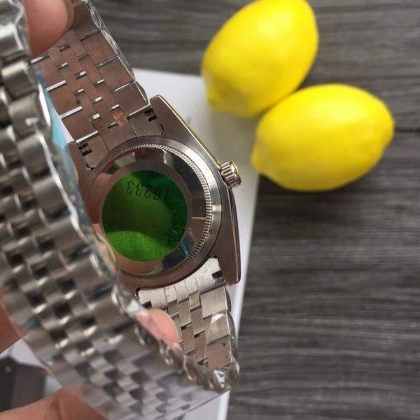 خرید ساعت مچی مردانه از علی اکسپرس Silver Luxury Datejust- watch sapphire glass suit both man and women Automatic glide smooth second hand AAA watches 51