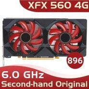 خرید کارت گرافیک XFX RX 560 4GB GDDR5 Graphics Cards for AMD RX 500 series VGA Video Card RX560-4GB RX560 RX564 4G HDMI DVI 7000MHz PCI 3.0 Used