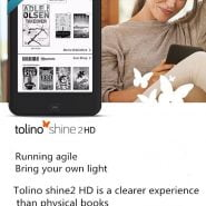 خرید کتابخوان از علی اکسپرس ereader eBook eReader Built in Light e-Book Reader WiFi ebook Tolino Shine2 HD e-ink 6 inch Touch Screen 1024×1448 300ppi