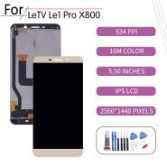 تاچ و ال سی دی ORIGINAL For LETV LeEco Le 1 Pro X800 LCD Touch Screen Digitizer Assembly