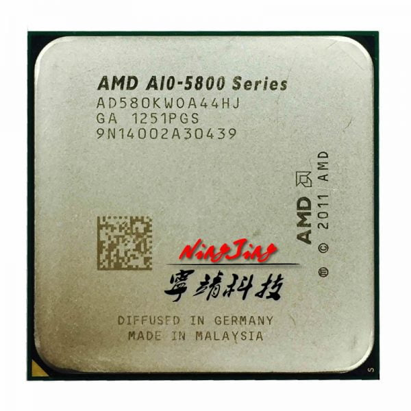 خرید سی پی یو AMD A10-Series A10 5800K A10 5800 Quad-Core CPU Processor