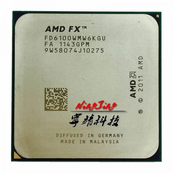 خرید سی پی یو AMD FX-Series FX 6100 3.3 GHz Six-Core CPU Processor