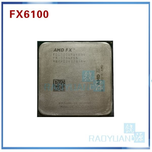 خرید سی پی یو AMD FX-Series FX6100 3.3GHz SIX-Core CPU Processor