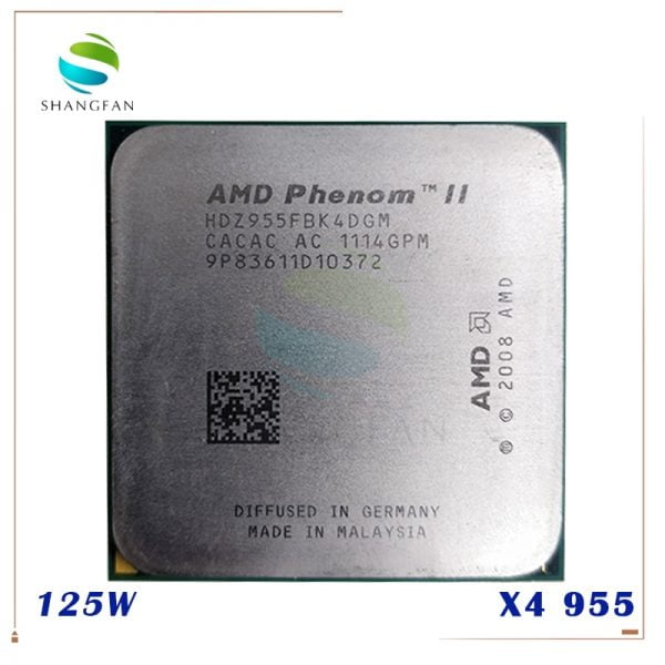 خرید سی پی یو سوکت AMD Phenom II X4 955 125W Quad-Core DeskTop  AM3