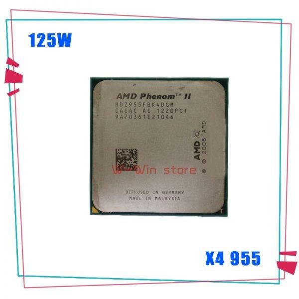 خرید سی پی یو AMD Phenom II X4 955 125W Quad-Core DeskTop CPU