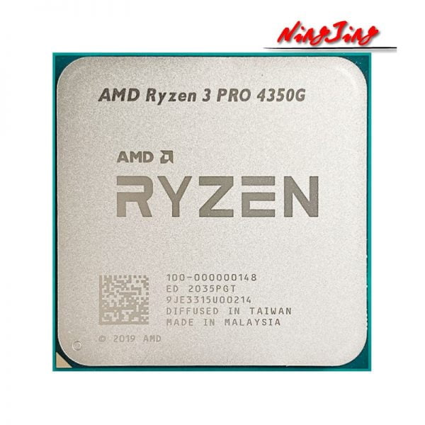 خرید سی پی یو AMD Ryzen 3 PRO 4350G R3 PRO 4350G 3.8GHz Four-Core Eight-Thread 65W CPU Processor L3=4M 100-000000148 Socket AM4