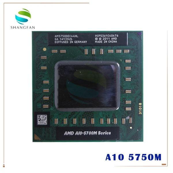 خرید سی پی یو لپ تاپ AMD laptop A10 5700M Series A10 5750M A10-5750m AM5750DEC44HL Socket FS1