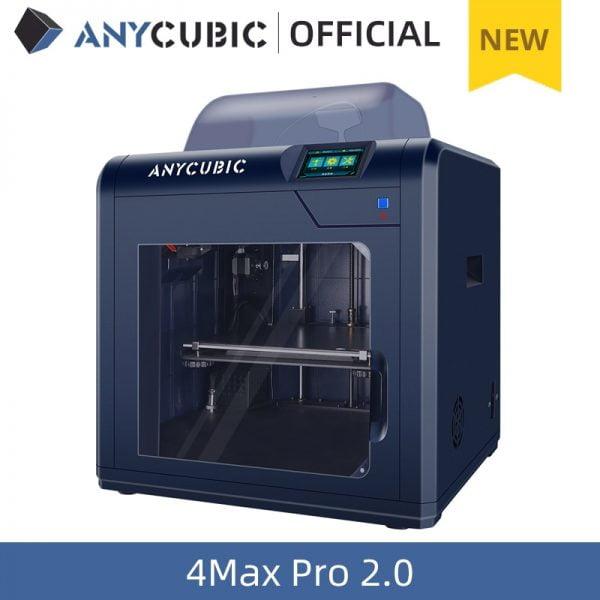 خرید پرینتر سه بعدی از علی اکسپرس ANYCUBIC New FDM 3D Printer 4Max Pro 2.0 with