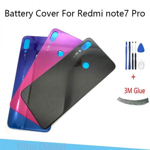 خرید درب پشت گوشی شیائومی ردمی نوت 7 Battery Back Cover For Redmi Note 7/Note 7 PRO