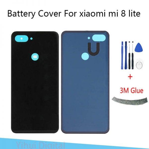 خرید درب پشت گوشی شیائومی می 8 لایت Battery Back Cover For Xiaomi Mi 8 Lite Mi 8lite Mi8 Youth