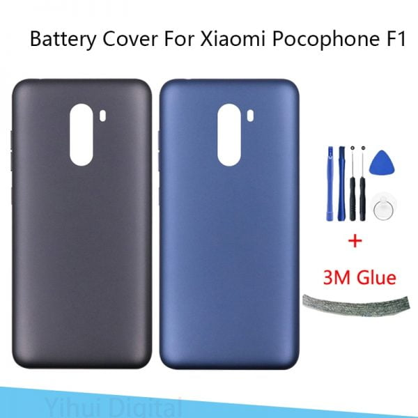 خرید درب پشت گوشی شیائومی پوکوفون Battery Back Cover For Xiaomi Pocophone F1