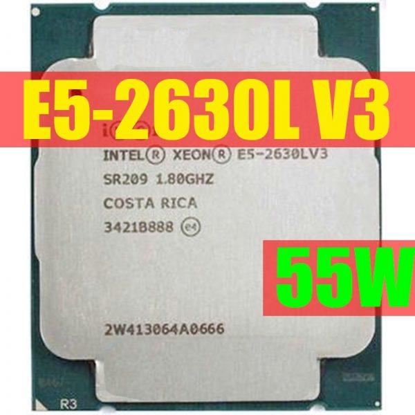 خرید سی پی یو E5-2630LV3 Original Intel Xeon OEM Version E5 2630LV3 CPU 8-cores