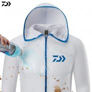 خرید لباس غواصی از علی اکسپرس Fishing Shirt Breathable Fishing Clothing Men Waterproof Fishing Shirts Long