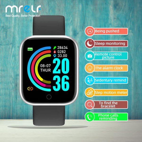 خرید ساعت هوشمند از علی اکسپرس Fitness Smart Watch Men Women Exercise Meter