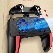 خرید گیم پد پابجی از علی اکسپرس H10 Gamepad Pubg Controller Double Cool Fan 2500/5000 Mah Game-Controller Android Joystick Mobile Game Pad New