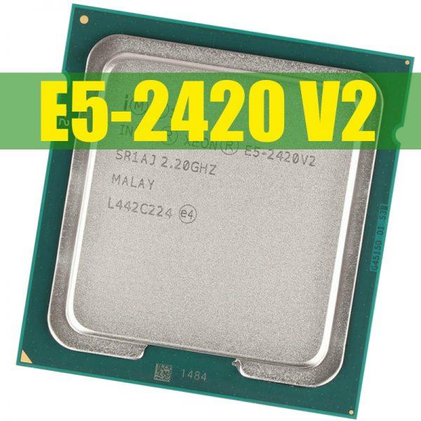 خرید سی پی یو اینتل سوکت INTEL CPU Intel Xeon E5 2420 v2 2,2 GHz Six-Core 12-Hilo de 15 M LGA 1356