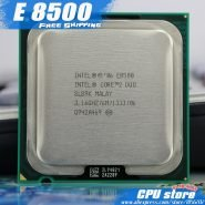 خرید سی پی یو Intel Core 2 Duo E8500 CPU Processor (3.16Ghz/ 6M /1333GHz) Dual-Core Socket 775