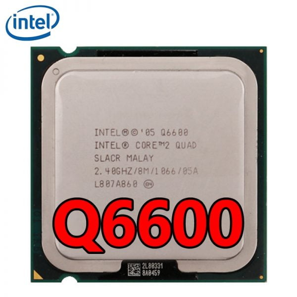 خرید سی پی یو اینتل Intel Core 2 Quad Q6600 CPU Quad-Core Processor 2.4 GHz