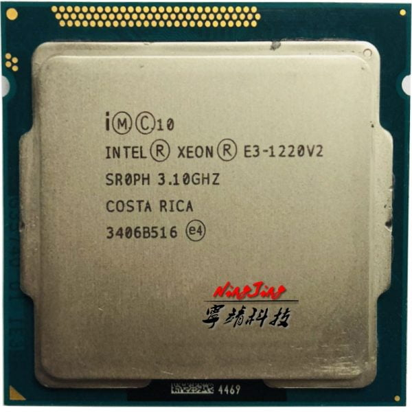 خرید سی پی یو Intel Xeon E3-1220 v2 E3 1220v2 E3 1220 v2 3.1 GHz Quad-Core