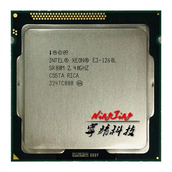 خرید سی پی یو Intel Xeon E3-1260L E3 1260L E3 1260 L 2.4 GHz Quad-Core