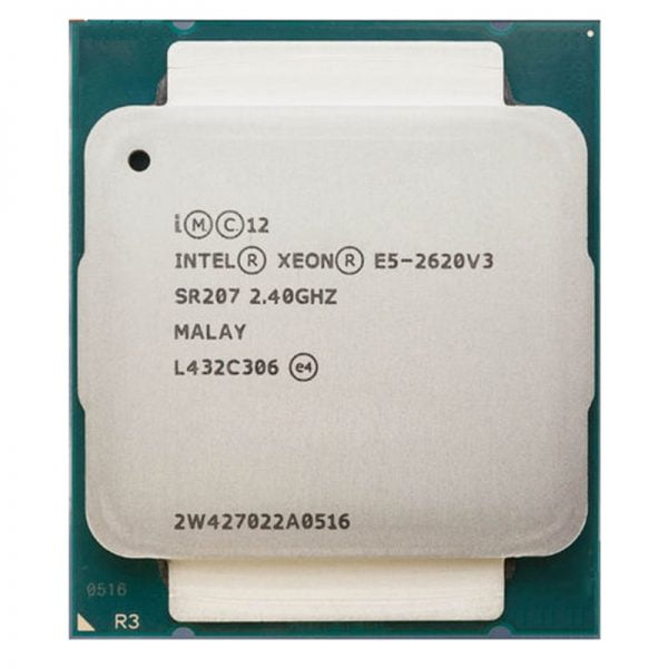 خرید سی پی یو Intel Xeon E5-2620 V3 E5 2620V3 E5-2620 V3 LGA 2011-V3 6 Core 2.40 GHz 15MB 85W