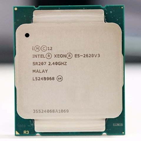 خرید سی پی یو Intel Xeon E5 2620 V3 Processor SR207 2.4Ghz 6 Core 85W Socket LGA 2011-3
