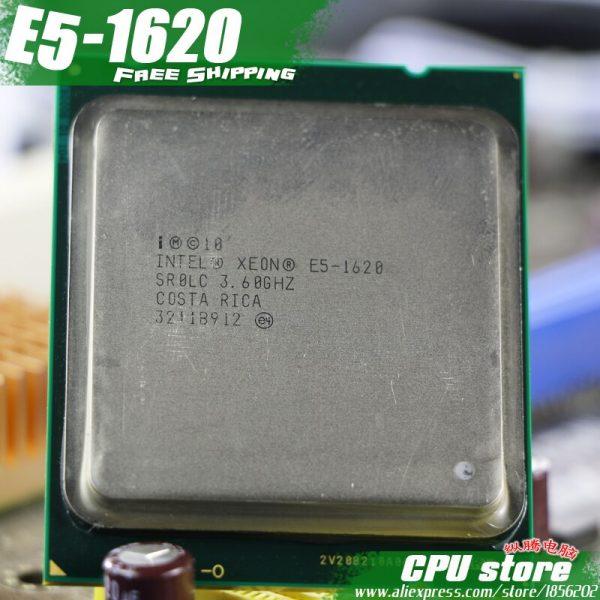 خرید سی پی یو اینتل Intel Xeon Quad Core E5 1620 E5-1620 CPU LGA 2011 Processador