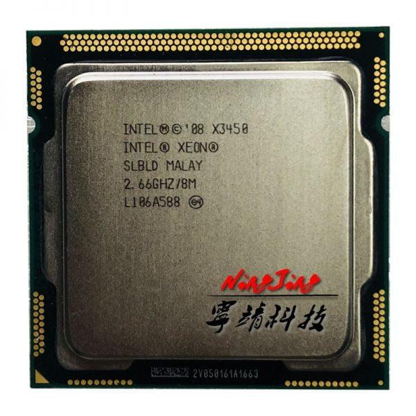 خرید سی پی یو اینتل Intel Xeon X3450 2.667 GHz Quad-Core Eight-Thread LGA 1156