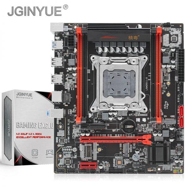 خرید مادر برد گیمینگ JGINYUE X79 turbo motherboard LGA 2011 For Intel i7 Xeon E5 V1&V2