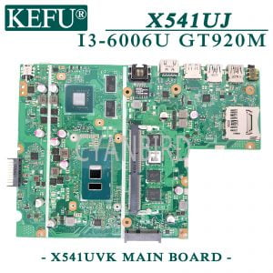 KEFU-X541UVK-original-mainboard-for-ASUS-X541UJ-X541UV-X541U-with-4GB-RAM-I3-6006U-GT920M-Laptop
