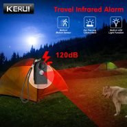 سنسور دورکردن حیوانات KERUI Security Alarm 120dB Camping Travel Mini PIR Infrared Motion Sensor