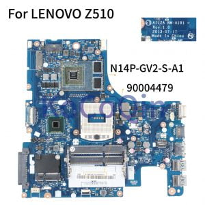 KoCoQin-Laptop-motherboard-For-LENOVO-Z510-Mainboard-AILZA-NM-A181-90004479-SR17E-N14P-GV2-S-A1